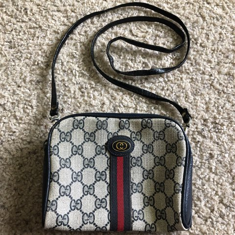 699214e94bfd @jeanfiend. last year. Arcade, United States. Gucci Logo Vintage Logo Mini Crossbody  Fanny Pack Waist Bum Bag Purse