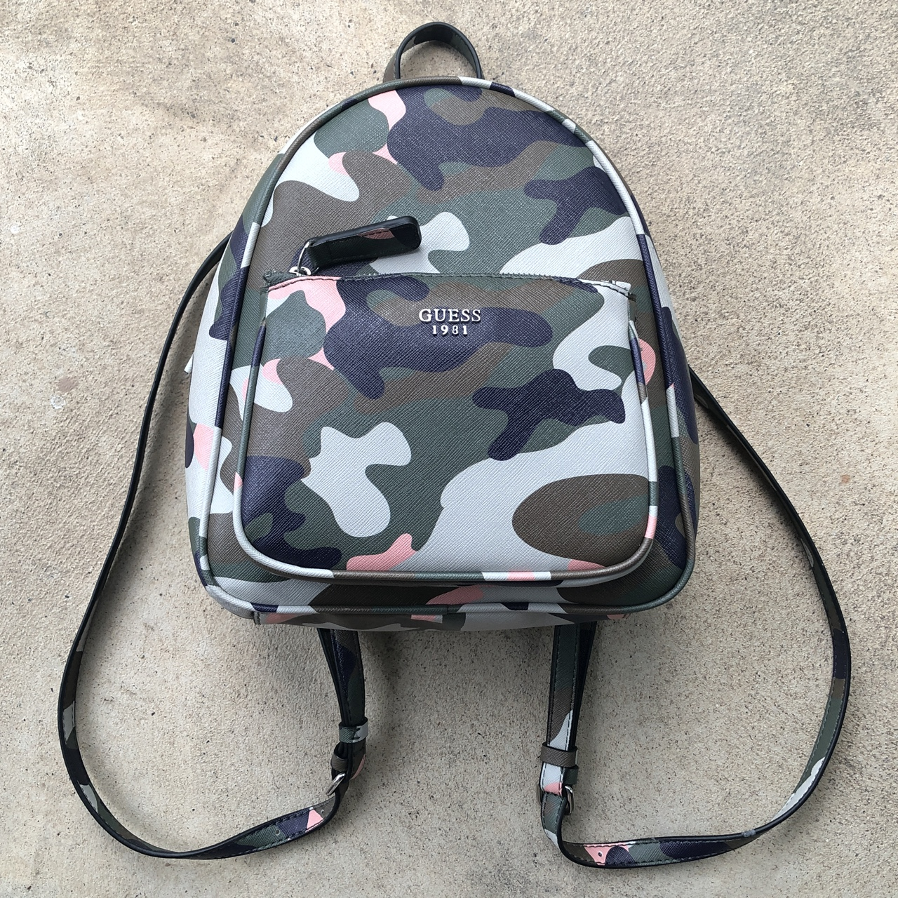 Rare Guess Jeans Camo Camouflage Pink Green Black Depop