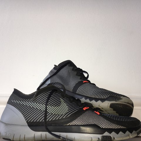 more photos e2a2f 40860 Nike Free Run 3.0 Black Grey Orange Size- 0