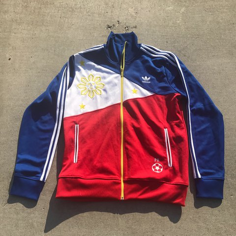 531542dcacda Men s Adidas Philippines Track Jacket 🇵🇭 sz Large in great - Depop