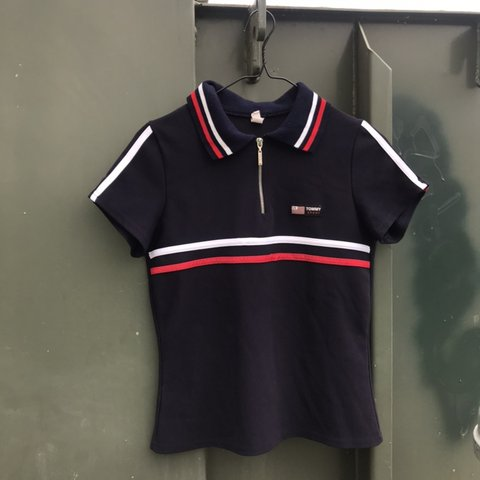 0a572245 @endless_ca. 23 hours ago. Merced, United States. Women's Tommy Hilfiger  sport polo 🎾 Sz S fits true ...