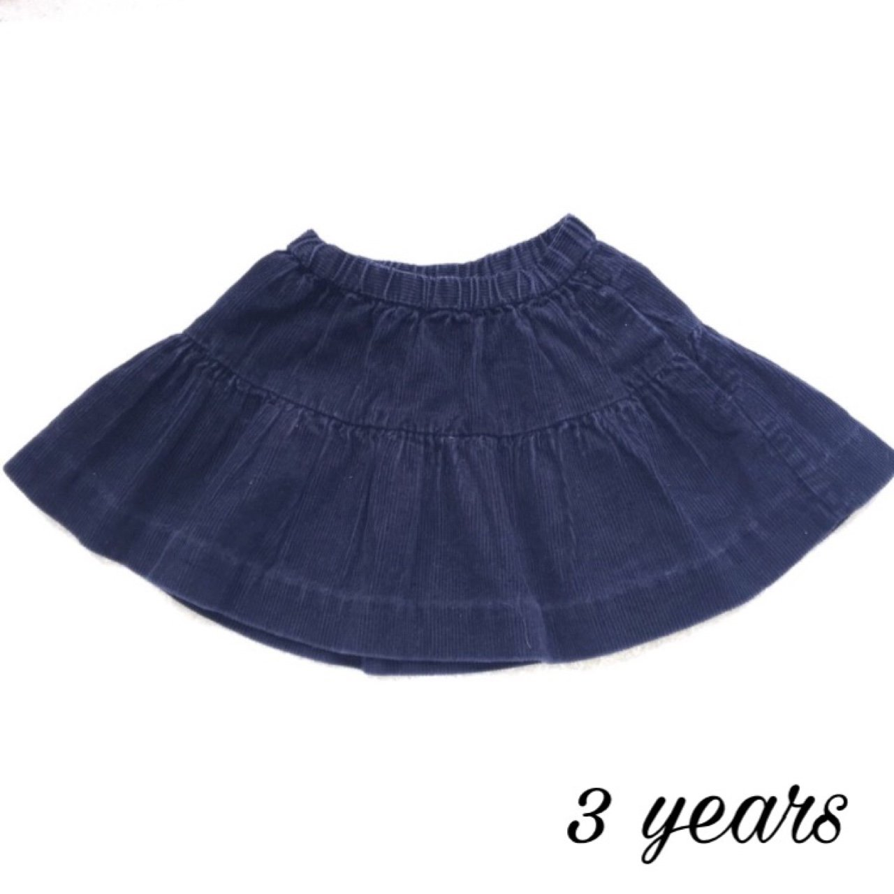 2c5f97da5 @jackandme. 2 years ago. Chorley, United Kingdom. Baby girl Ralph Lauren  navy blue cord skirt ...