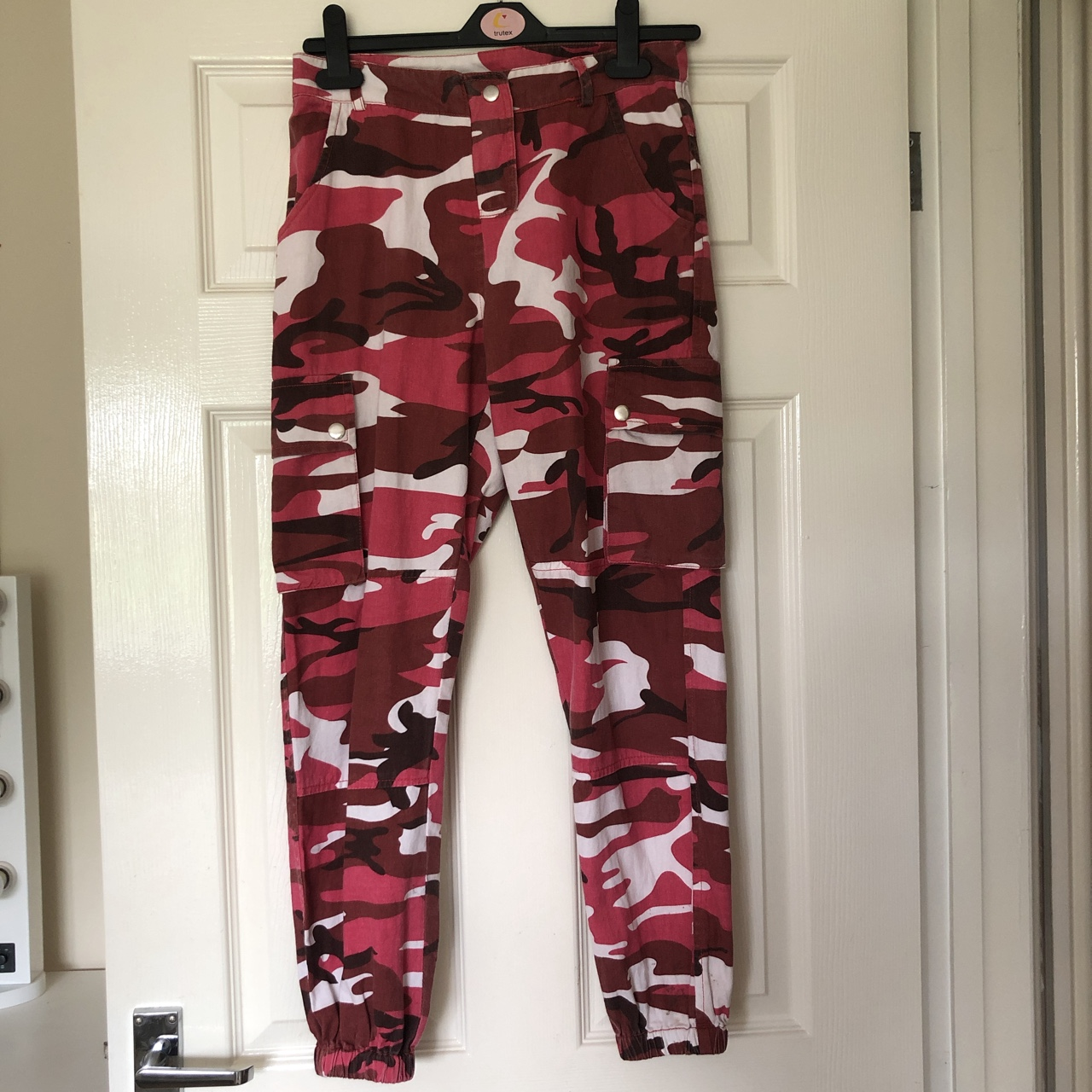 huge sale special buy wide selection New look pink camo trousers. Age 11. But would fit... - Depop