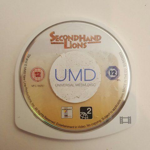 Secondhand Lions - Great movie for the PSP - Depop
