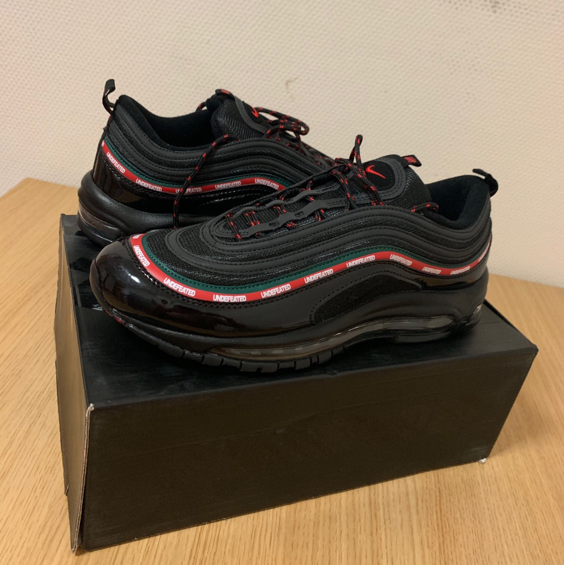 Nike x UNDEFEATED Air Max 97 Black colour way Depop