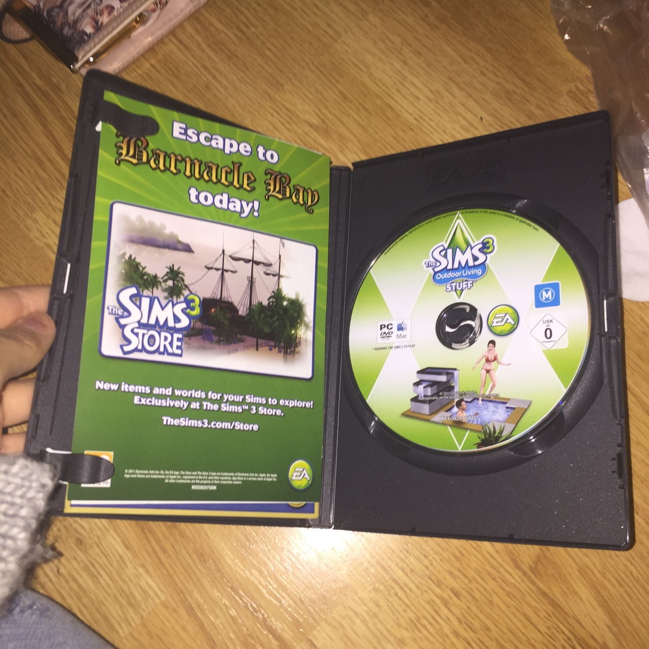 The sims 3 outdoor living stuff pack  Great game     - Depop