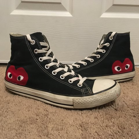 20c67f357f40 Swap for Custom Converse x Comme des Garçons (CDG)! These I - Depop