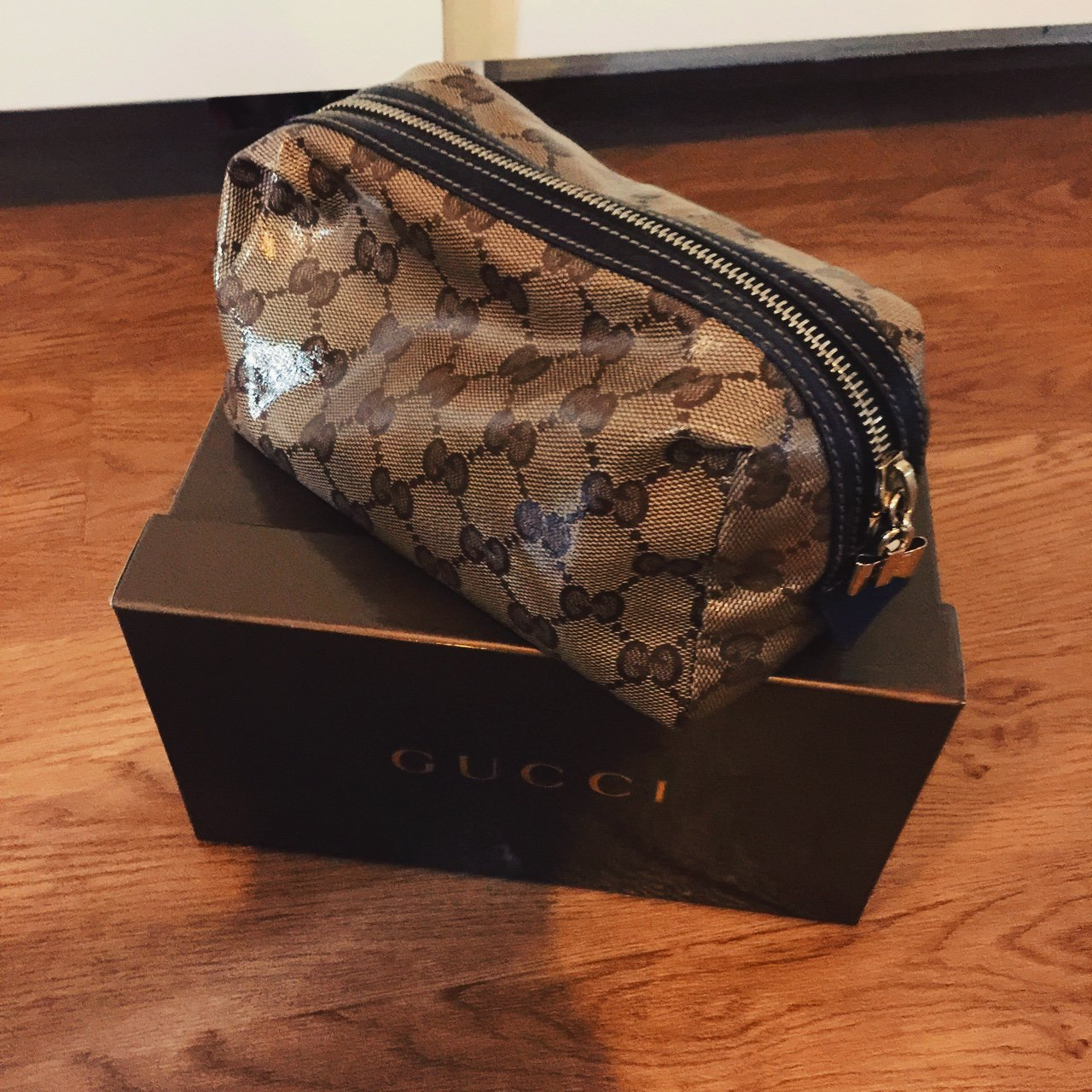 49928d1acec3 Gucci cosmetic bag Good condition Purchased from Selfridges - Depop