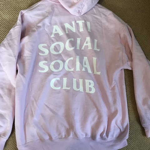 adcafabb6041 Anti Social Social Club (Authentic with proof) Classic Pink - Depop