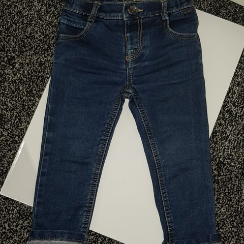 12-18 Months Helpful Ted Baker Boy Blue Jeans Clothing, Shoes & Accessories Bottoms