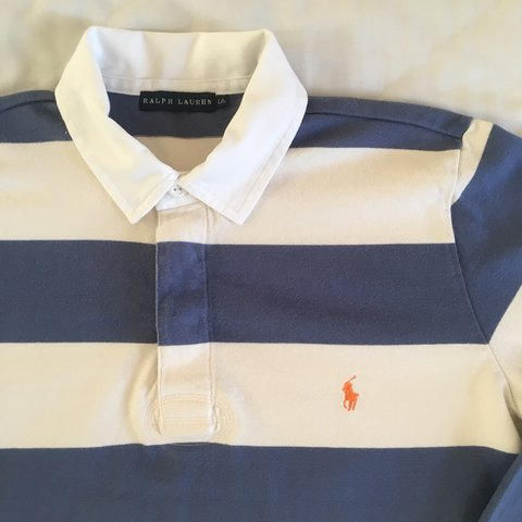 bf991279a @louisretro. 10 months ago. Oxted, United Kingdom. Vintage Women's Ralph  Lauren Rugby Polo Shirt ...