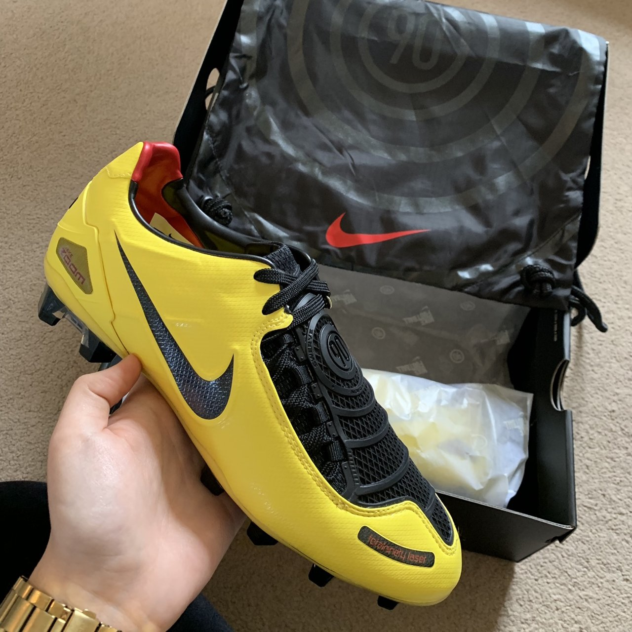 NIKE TOTAL 90 LASER FOOTBALL BOOTS