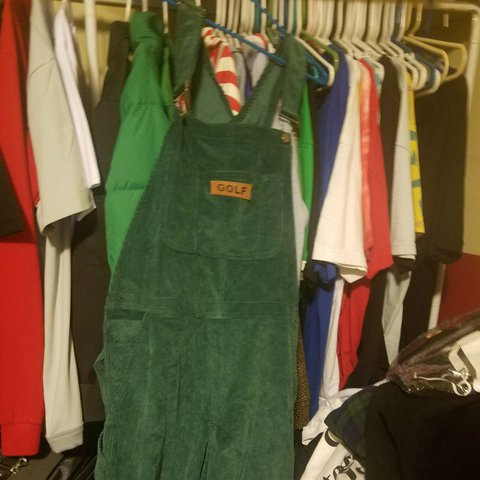 fbd59259b688 GOLF WANG OVERALLS FOR SALE WORN ONCE AND HAS BEEN JUST IN - Depop