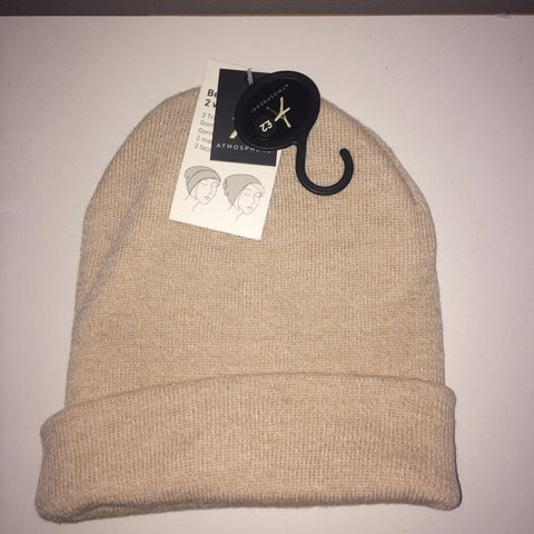 af856f6c873 Nude beanie hat never worn with tags 1.50 delivery - Depop