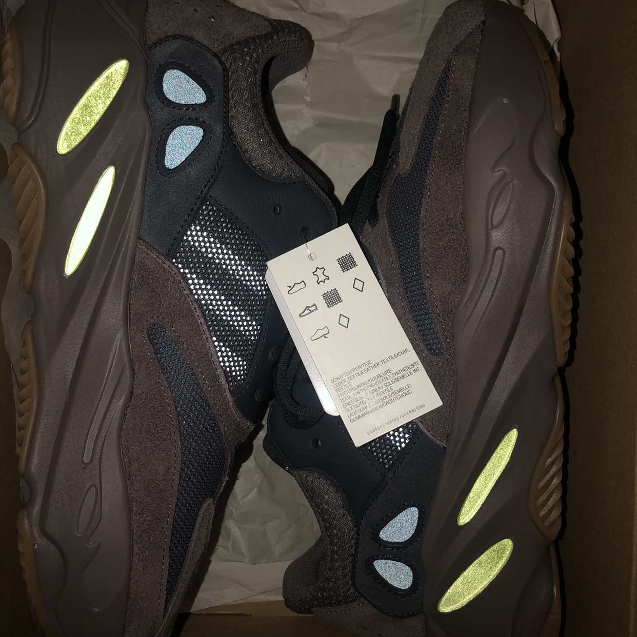 low priced 2f467 1e70a Adidas Yeezy Boost 700 Mauve, US Size 10.5 BRAND... - Depop