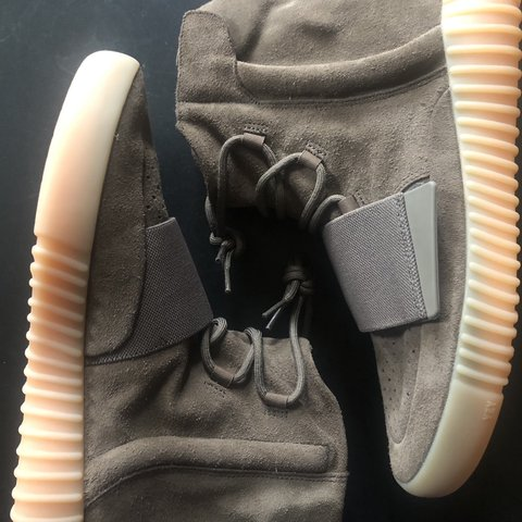 9766b7d459f8b Adidas Yeezy Boost 750 Light Brown Chocolate Gum Size 11 - Depop