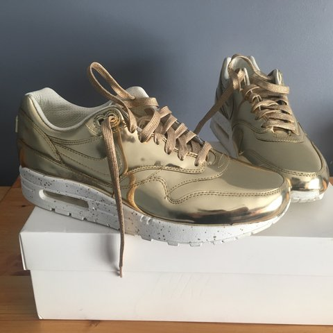 new arrival d8af3 a1ec8  aa092. 2 years ago. Coventry, United Kingdom. Nike air max 1 Liquid Gold