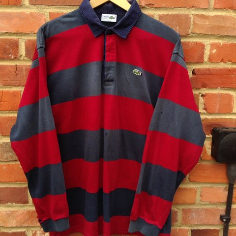 19cb1660 @aesthetic_vintage_. 2 days ago. Bracknell, United Kingdom. Vintage 1990s  Lacoste polo shirt. Size XL