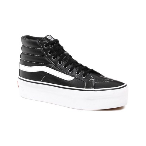 b000d3c800 LOWERED PRICE VANS SK8-Hi Platform Black High Top Sneakers - Depop