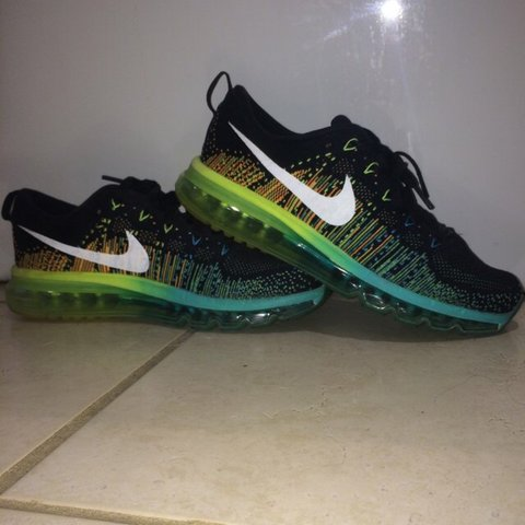 nike men s flyknit air max 2014 uk 7 5 but a large fit would depop rh depop com