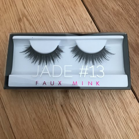 a014d87f377 @katiesmith4536. last year. Peterborough, United Kingdom. Huda beauty faux  mink lashes in style Jade #13 ...