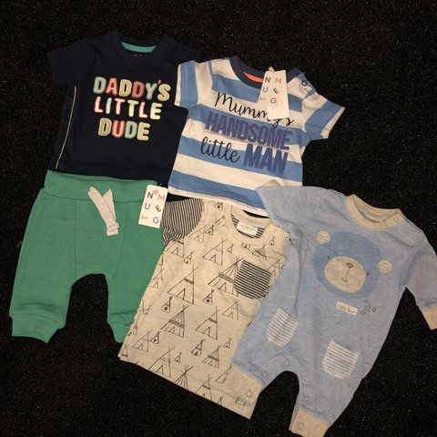 5ae519e9a @michelleg136. 8 months ago. Wishaw, United Kingdom. Baby Boy clothes  outfits bundle newborn first size ...