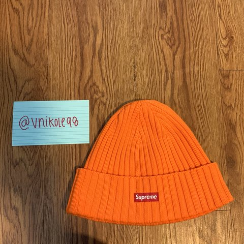 eed7254eb9b98 SS18 Supreme Overdyed Beanie On stock x for  70 9 10 dm me - Depop