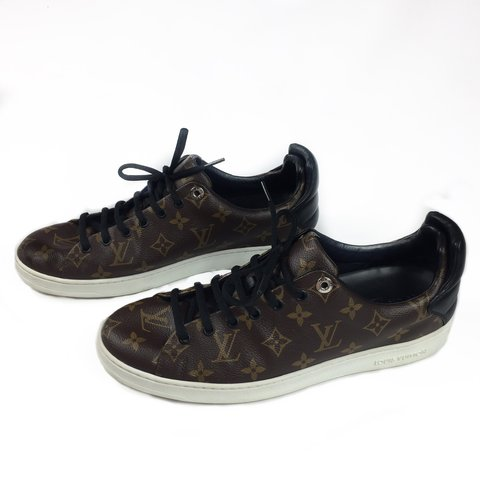 cd20c3096ee3 Item  Louis Vuitton monogram Trainers s Colour  brown 10 in - Depop