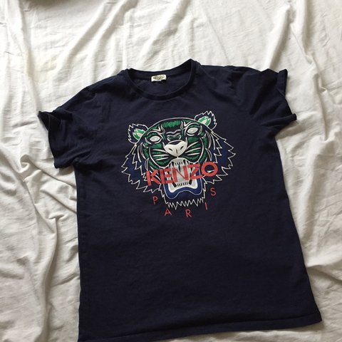 bbbfd13d @vickilousmith. last month. Solihull, United Kingdom. Kenzo T-shirt dark  blue navy tiger ...