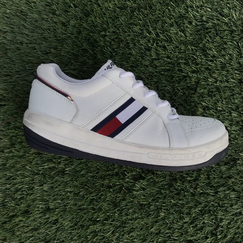 683ea8cb1e35 Vintage Tommy Hilfiger sneakers 90s HIT These are Tagged - Depop