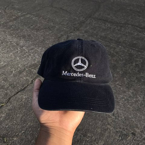 4234ac0283161a Vintage Mercedes Benz hat Clean dad hat style all fit No - Depop