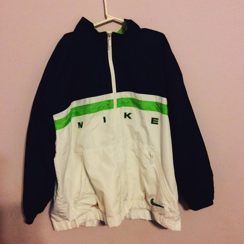 dca670fb1 Vintage nike windbreaker jacket. - Depop