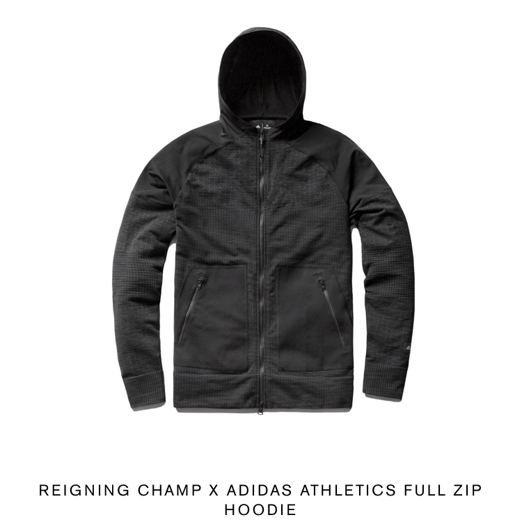 Adidas x Reigning champ zip hoodie Brand new with Depop