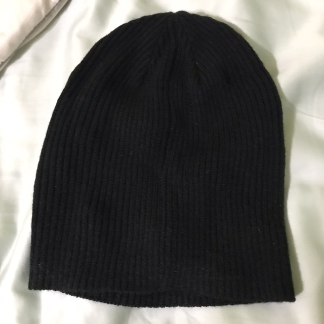 80773aaa5 Plain black beanie hat from H&M! Bought this and... - Depop