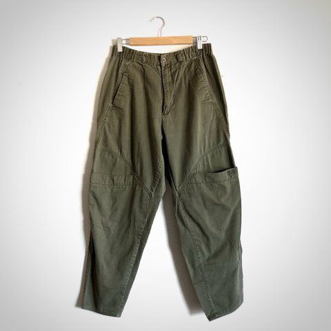 c3a5b509280 Oversized cozy AF 80s 90s vintage olive drab pants by