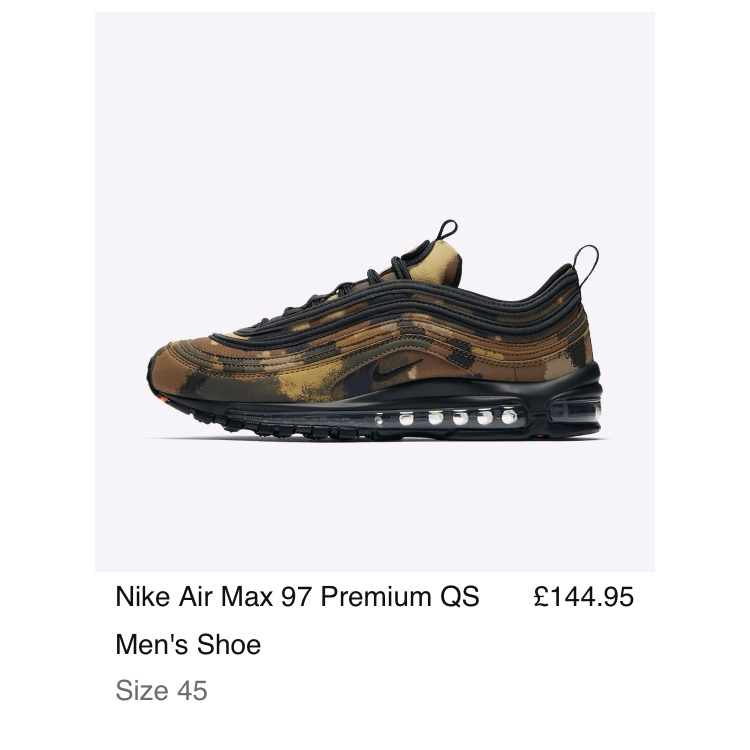 Air max 97 country camo I HAVE A fewCAMO COUNTRY: Depop