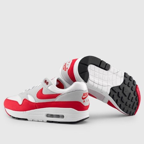 01f826f65350 Nike Air Max 1 Anniversary Red OG 9 10 condition - Only of - Depop