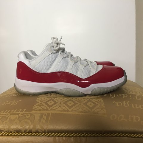 innovative design e33b1 08e69  counterclockwise. 2 years ago. Sutton Coldfield, United Kingdom. Nike Air  Jordan 11 Low Cherry ...