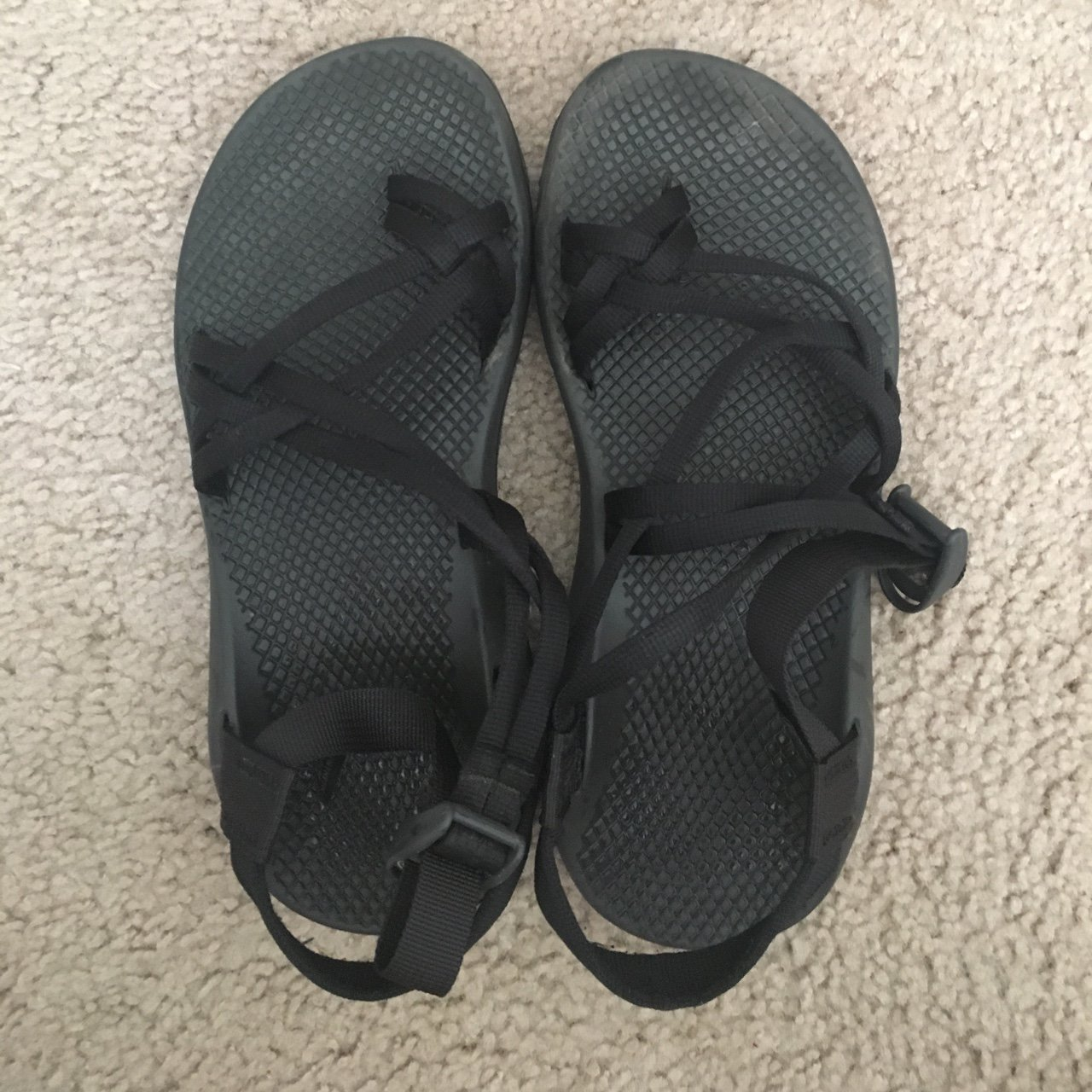 656020f89430 Women s size 8 chacos. Selling because they don t fit right - Depop
