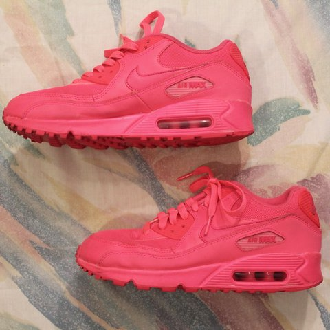 f1d87a54d024 💘 All Pink Nike Air Max 90 💘 These sweet stunning air are - Depop