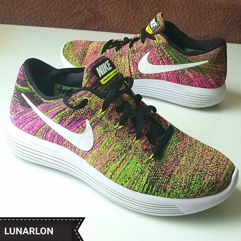 eee5e70463 NEW Men's Running Shoes NIKE LUNARLON LUNAREPIC FLYKNIT & - Depop