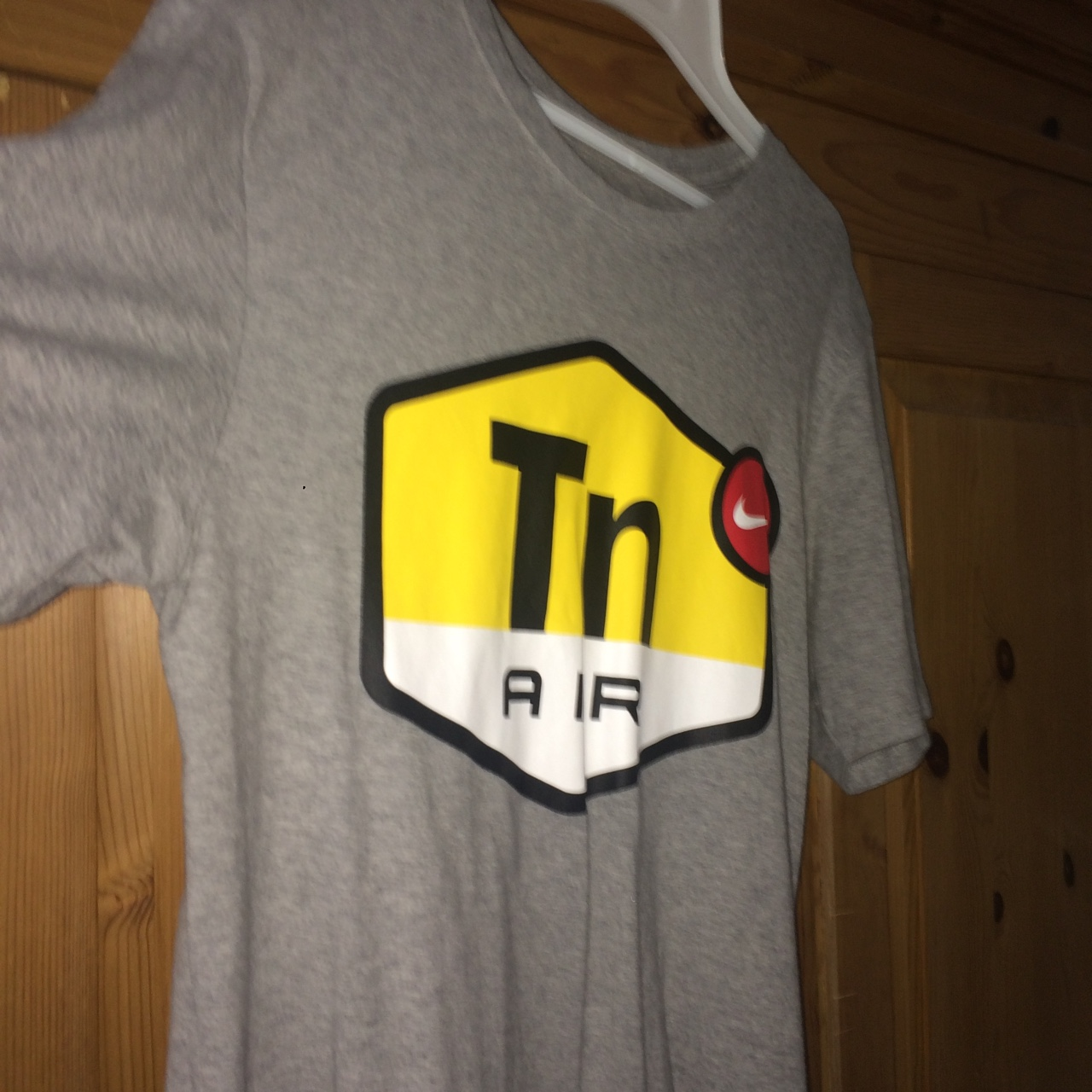 check out new collection best choice Nike TN air t-shirt. Worn once and purchased in... - Depop