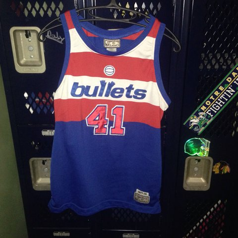 f23a33c22 Washington Bullets   Washington Wizards Wes Unseld NBA  41. - Depop