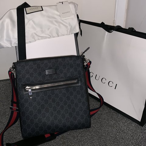 642699b0d59b76 @connorkemp001. 2 months ago. Canterbury, United Kingdom. Gucci GG Supreme Messenger  Bag ...