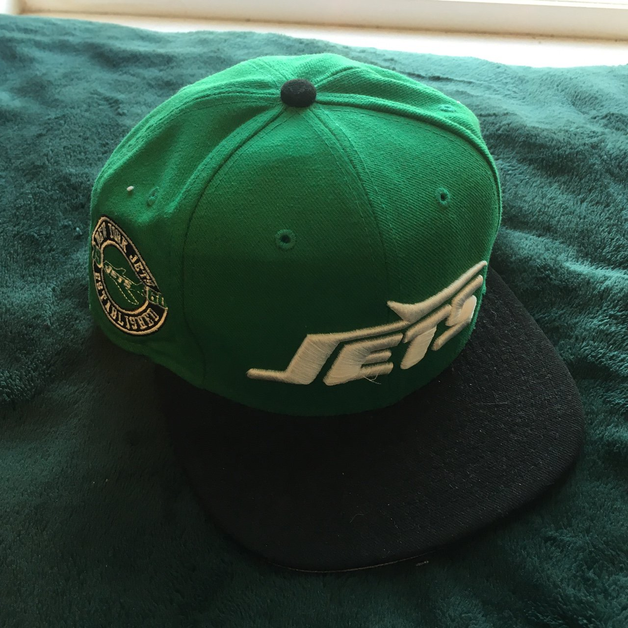 1507a6e3a New Era x 9FIFTY NFL New York Jets snapback for  9Fifty  NFL - Depop