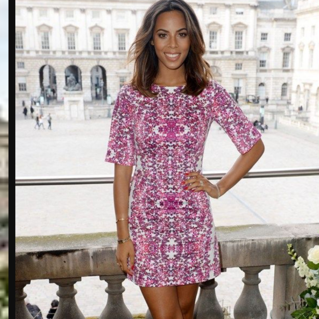 Stunning Size 20 Rochelle Humes Dress Brand New Depop