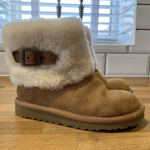 d7b205f10386 Girls UGG boots size 12. Worn twice in great condition. No - Depop