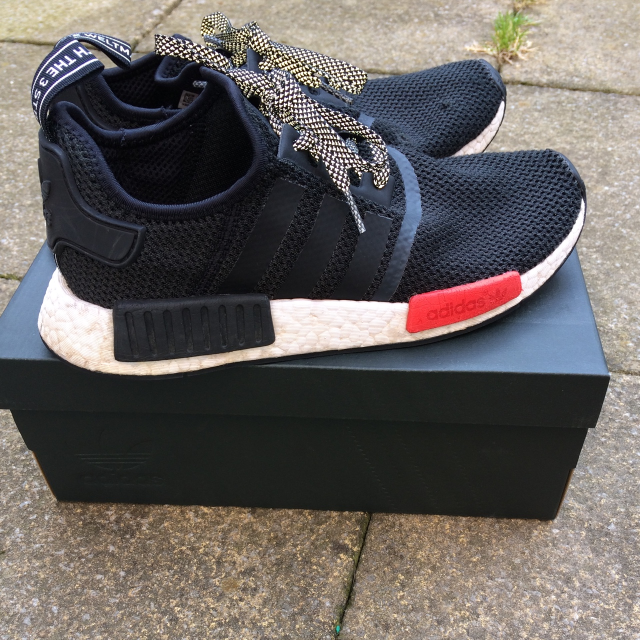 Footlocker Adidas NMD R1, sold out, used but now too