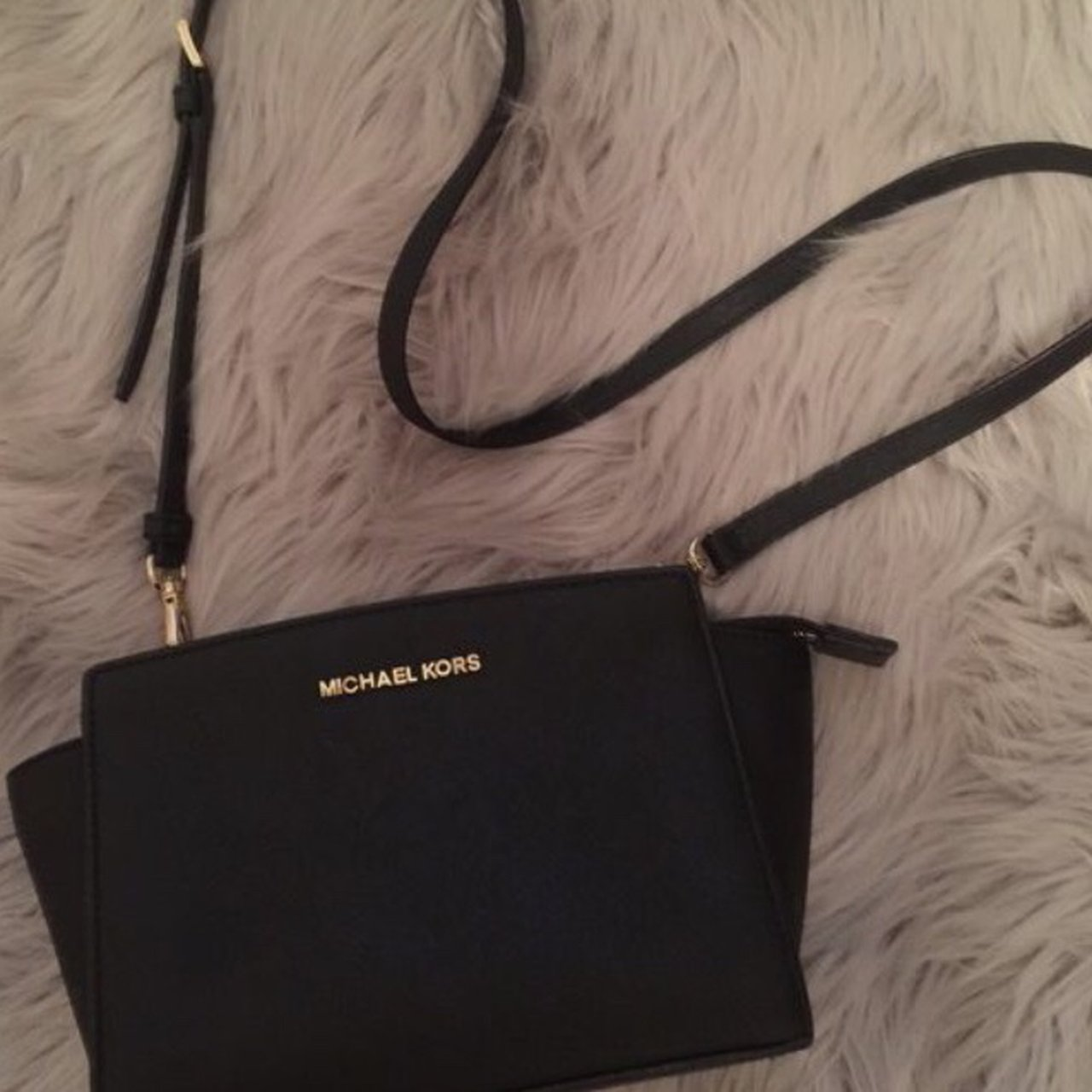 ccf616da1b Michael Kors mini bag . Looks brand new Bought for £200 - Depop