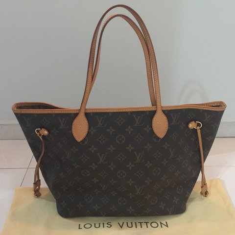 35e4285a04af LV Monogram Neverfull in MM. Comes with dust bag